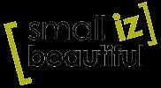 Small Iz Beautiful - Logo